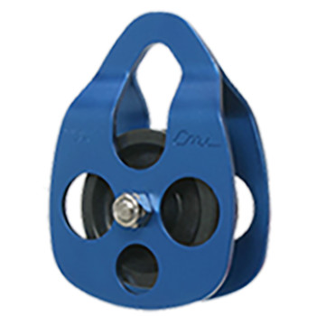 CMI RC103 Blue Ropes Course Aluminum Pulley  (Bearing)