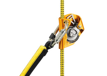Petzl R091AA Ray 12mm Static Rope with Sewn Termination