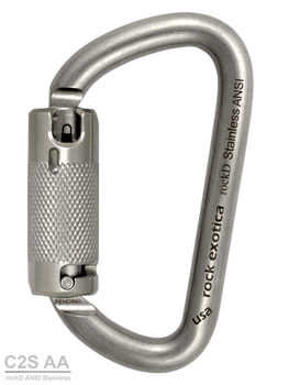Rock Exotica C2S AA rockD Stainless Steel ANSI