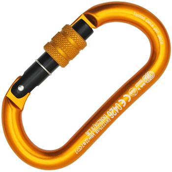 Kong Oval Aluminum Screw Carabiner