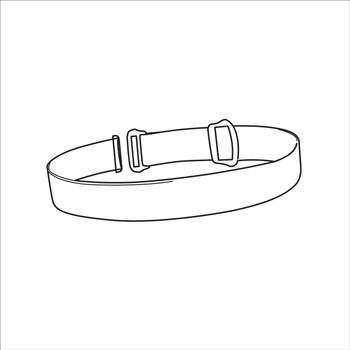 Petzl E099CA00 Spare Headband for Actik Headlamps