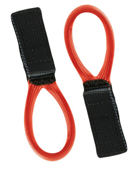 Edelrid Velcro Hook Loop, Black/Red