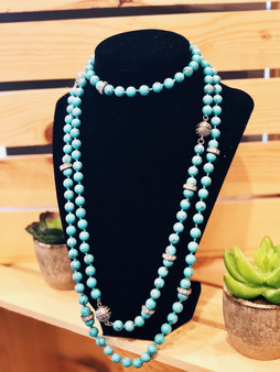 Turquiose Convertible Necklace