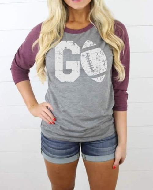 Go Football - Raglan Shirt