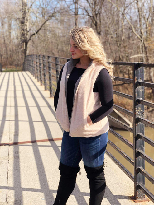 Reversible Vest with Pockets