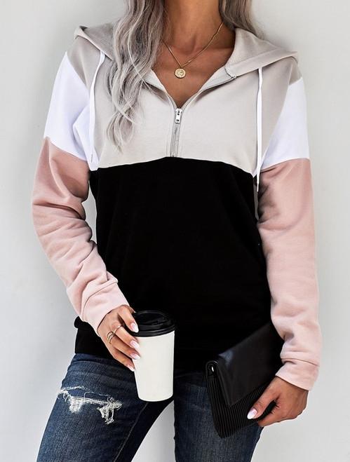 Zip Pullover Hoodie