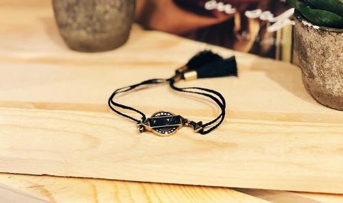 Sunlit Savanna Tassel Bracelet
