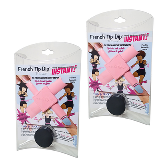2 Pack: Weapon of Choice Instant French Manicure & Pedicure Tool Kit