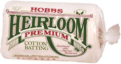 80/20 Heirloom Quilt Batt - NATURAL