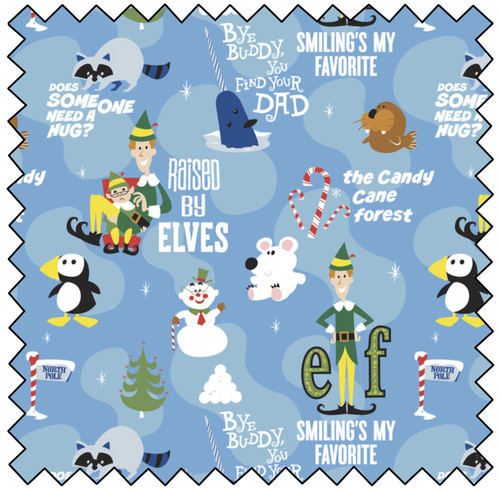 Elf Movie Moments - BLUE