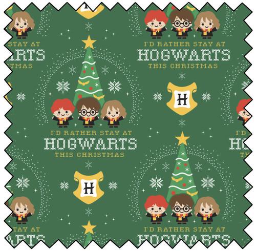 HP Hogwarts Holiday - GREEN