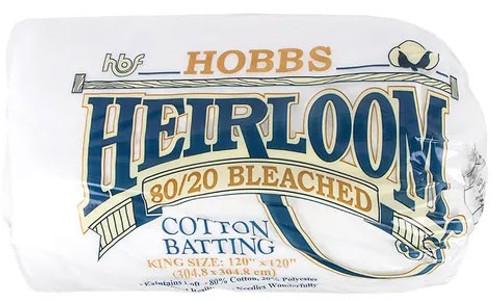 80/20 Heirloom Quilt Batt - BLEACHED