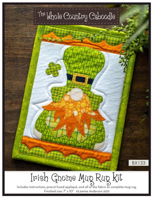 Irish Gnome Mug Rug Kit