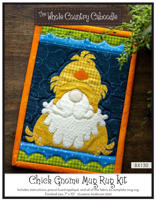 Chick Gnome Mug Rug Kit