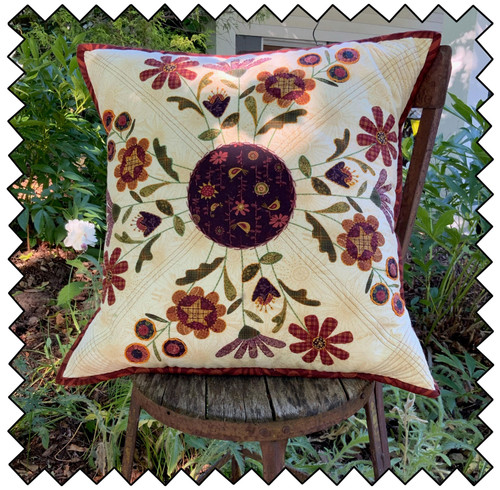 The Plant Kindness Embroidered Pillow