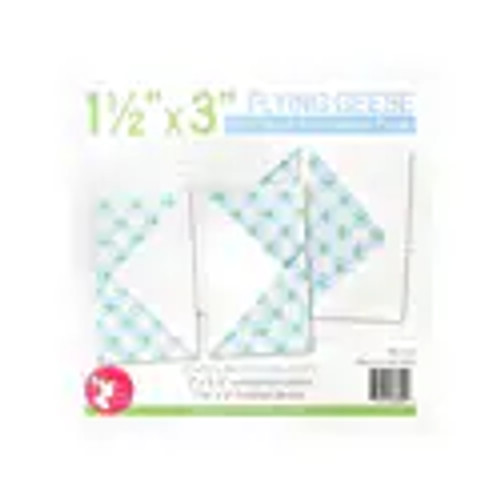 """Flying Geese Quilt Block Foundation Paper - 1.5"""" x 3"""""""
