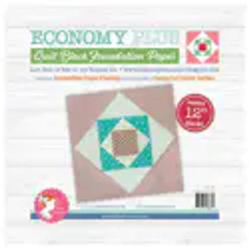 "Economy Quilt Block Foundation Paper -12"""