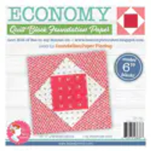 "Economy Quilt Block Foundation Paper - 6"""