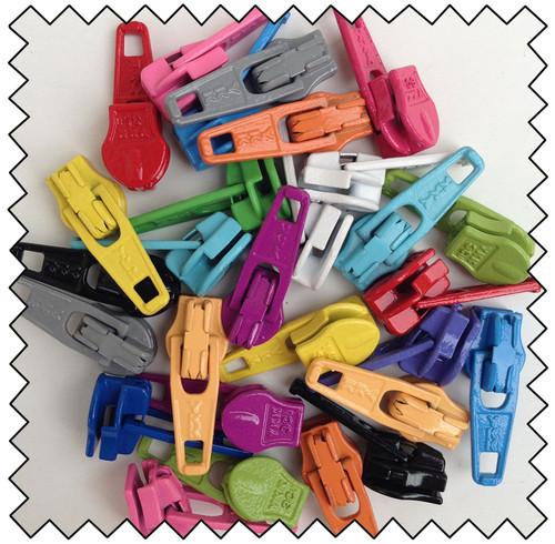 Zipper Pulls - Candy Color Mix