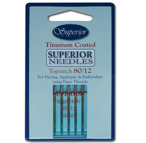 Topstitch Needles -  SIZE 80/12
