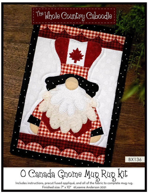 O Canada Mug Rug Kit