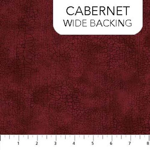 """Crackle 108"""" WideBack - CABERNET"""