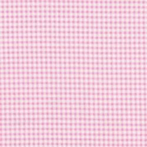 NURSERY FLANNEL GINGHAM - PINK