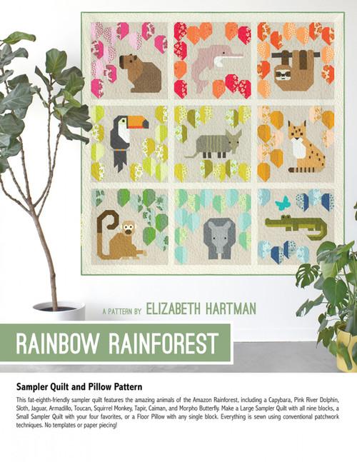 Rainbow Forest Pattern