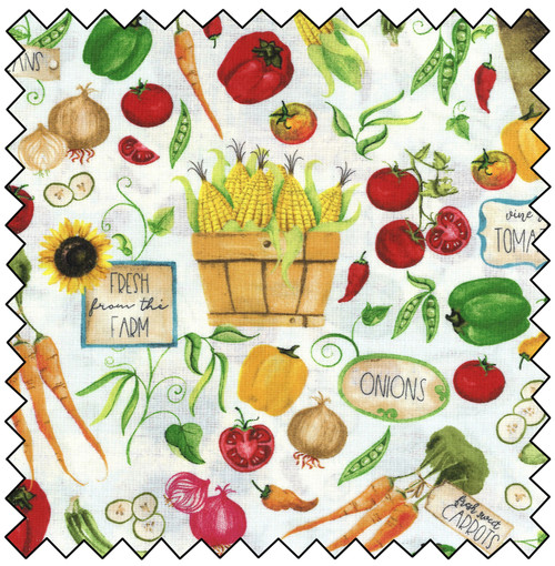 Vegetable Stand - WHITE