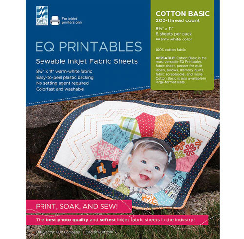 EQ Printables - Cotton - 6 Sheets