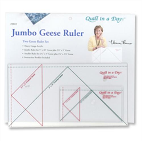 Jumbo Flying Geese Ruler Set