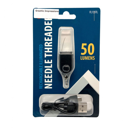 Rechargeable Illuminated Needle Threader