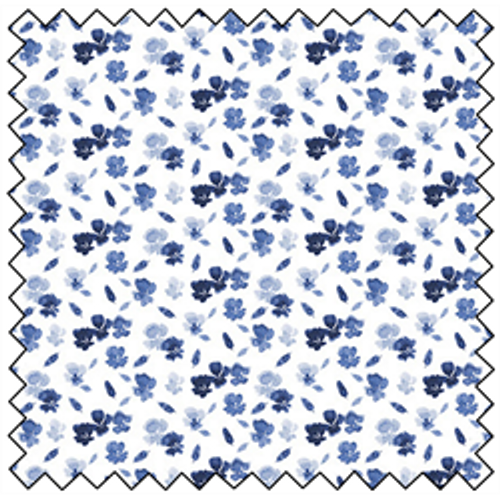 Dainty Floral Scatter - WHITE