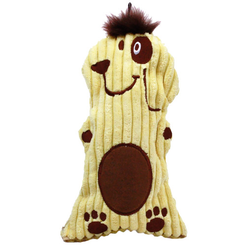 Bottle Buddy Squeaker Yellow Dog