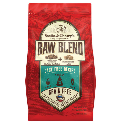 Stella & Chewy's Raw Blend Cage Free Poultry Baked Kibble