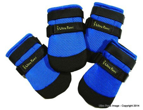 UltraPaws Cool Dog Boots (Blue)
