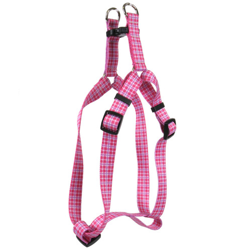 Preppy Plaid Step-In Harness