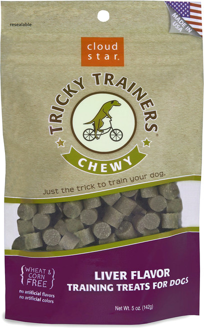 CloudStar Tricky Trainers Grain-Free Liver Flavor