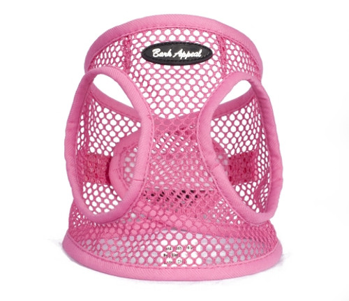 Bark Appeal Netted EZ Wrap Harness Pink