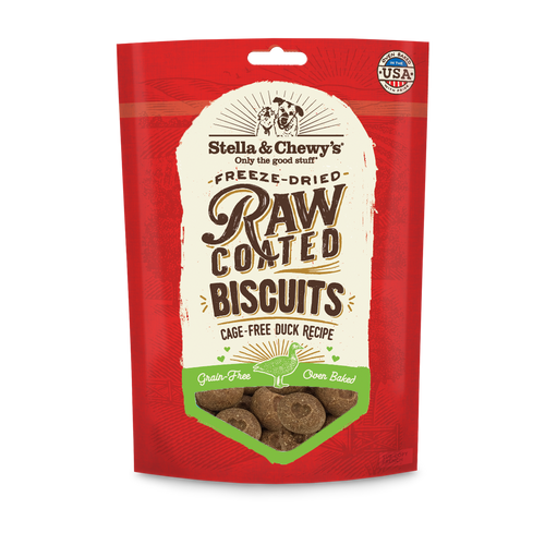 Stella and Chewy's Freeze-dried Raw Coated Biscuits Duck Recipe