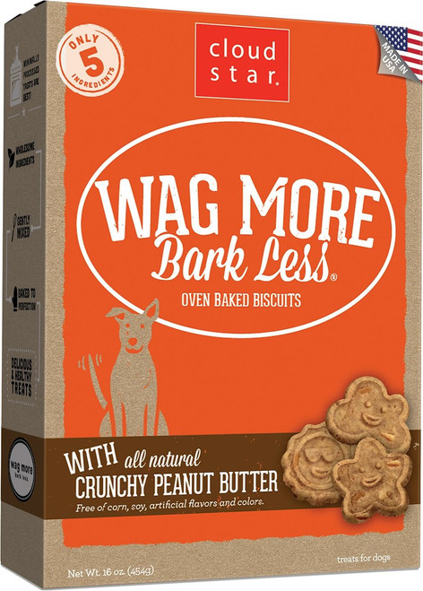 CloudStar WMBL Baked Crunchy Peanut Butter Biscuits