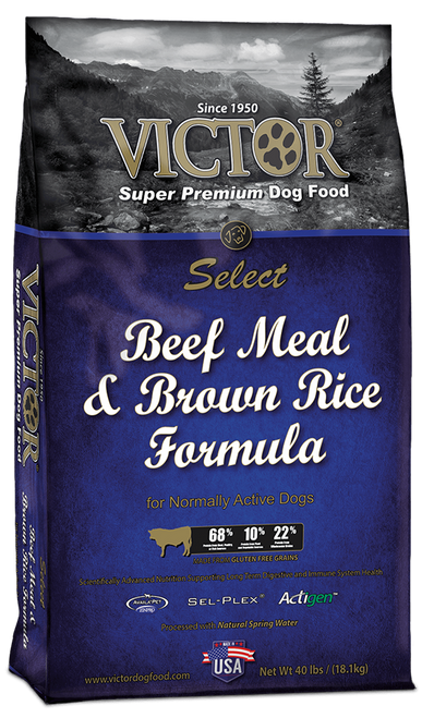 Victor Beef Meal & Brown Rice Recipe Dry Dog Food