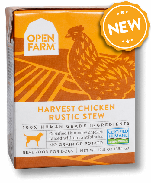 Open Farm Harvest Chicken Rustic Stew