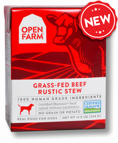 Open Farm Grass-Fed Beef Rustic Stew