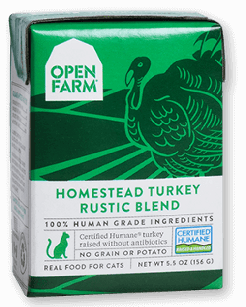 Open Farm Turkey Rustic Blend Stew for Cats