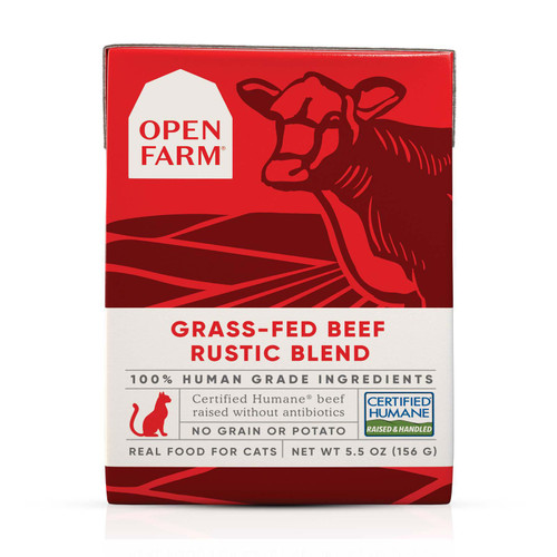 Open Farm Beef Rustic Blend Stew for Cats