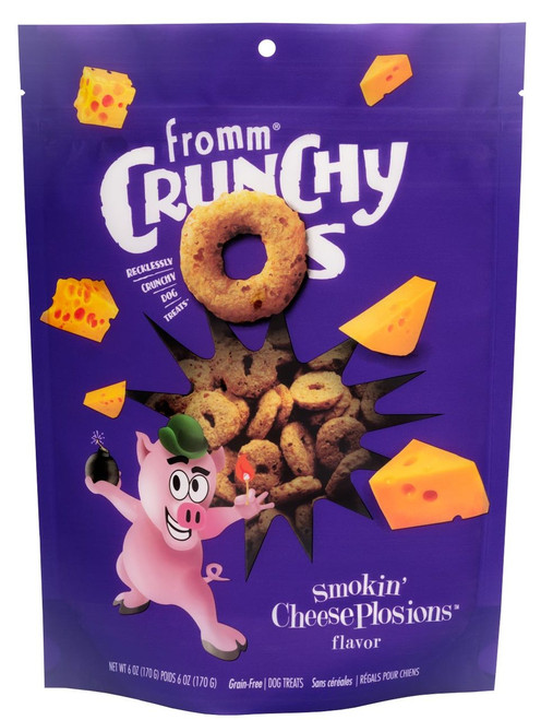Fromm Crunchy-Os Smokin' CheesePlosions