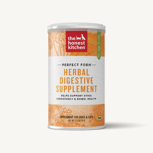The Honest Kitchen Perfect Form Herbal Digestive Supplement