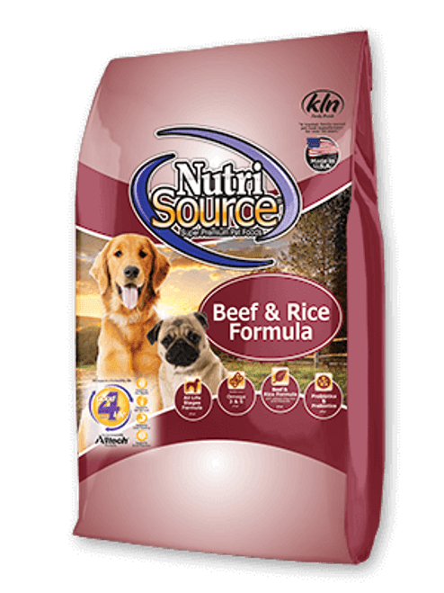 NutriSource Beef and Rice Formula