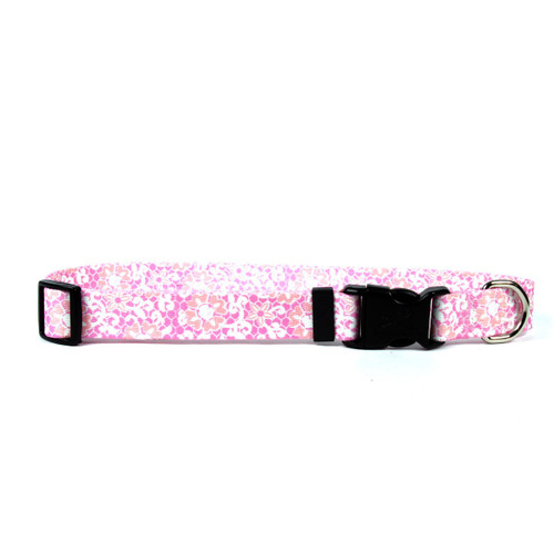 YellowDog Pink Lace Collar